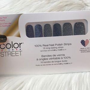 Color street strip nails Moon River